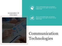 Communication Technologies Presentation Layouts