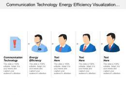 Communication Technology Energy Efficiency Visualization Technologies Digital Enablement