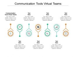 Communication Tools Virtual Teams Ppt Powerpoint Presentation Icon Clipart Cpb