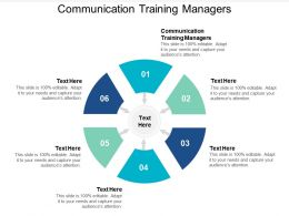 Communication Training Managers Powerpoint Presentation Styles Background Images Cpb