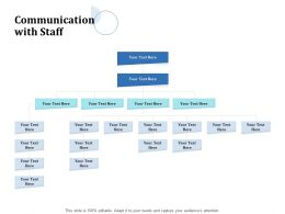 Communication With Staff Ppt Powerpoint Presentation Outline Format