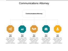 Communications Attorney Ppt Powerpoint Presentation Model Template Cpb