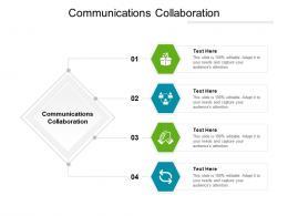 Communications Collaboration Ppt Powerpoint Presentation Pictures Slide Portrait Cpb