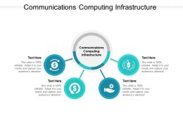 Communications Computing Infrastructure Ppt Powerpoint Presentation File Portfolio Cpb