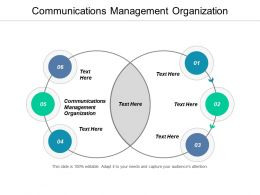 Communications Management Organization Ppt Powerpoint Presentation Summary Master Slide Cpb