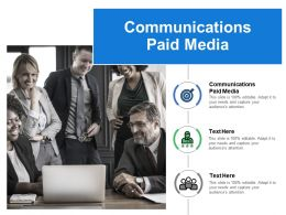 Communications Paid Media Ppt Powerpoint Presentation File Slide Portrait Cpb