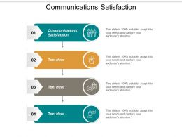 Communications Satisfaction Ppt Powerpoint Presentation Ideas Deck Cpb