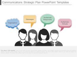 Communications Strategic Plan Powerpoint Templates