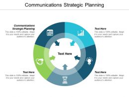 Communications Strategic Planning Ppt Powerpoint Presentation Model Maker Cpb