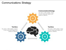 Communications Strategy Ppt Powerpoint Presentation Styles Tips Cpb