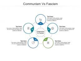 Communism Vs Fascism Ppt Powerpoint Presentation Infographics Microsoft Cpb