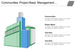 Communities Project Basic Management Information System Information System