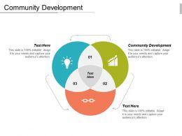 Community Development Ppt Powerpoint Presentation Icon Slides Cpb