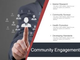 Community Engagement Powerpoint Presentation
