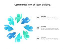 Community Icon Of Team Building