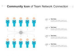 Community Icon Of Team Network Connection