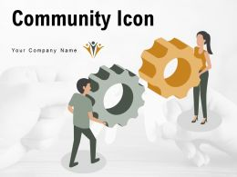 Community Icon Teamwork Business Network Connection Dollar Symbol