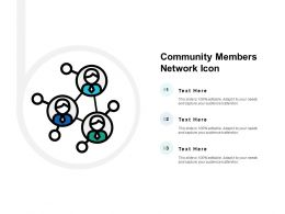 Community Members Network Icon