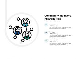 Community Members Network Icon