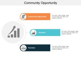 Community Opportunity Ppt Powerpoint Presentation Icon Themes Cpb