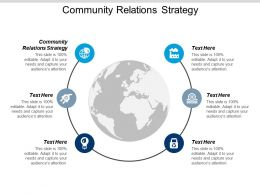 Community Relations Strategy Ppt Powerpoint Presentation Pictures Slides Cpb