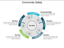 Community Safety Ppt Powerpoint Presentation Ideas Slides Cpb