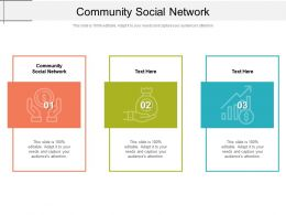 Community Social Network Ppt Powerpoint Presentation Icon Background Designs Cpb