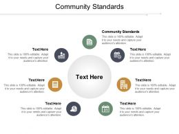 Community Standards Ppt Powerpoint Presentation File Design Ideas Cpb