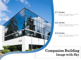 Companies Building Image With Sky