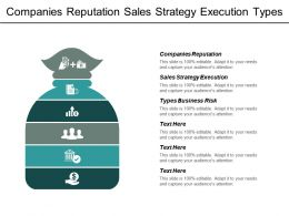 Companies Reputation Sales Strategy Execution Types Business Risk Cpb