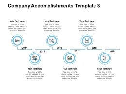 Company Accomplishments Management Ppt Powerpoint Presentation Infographic