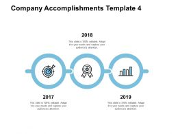 Company Accomplishments Years Growth Ppt Powerpoint Presentation Clipart