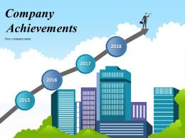 Company Achievements Powerpoint Presentation Slides