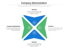 Company Administration Ppt Powerpoint Presentation Styles Picture Cpb