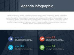 Company Agenda With Icons For Analysis Powerpoint Slides