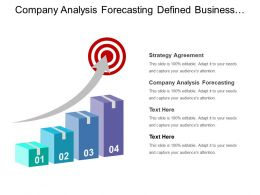 Company Analysis Forecasting Defined Business Units Strategy Agreement