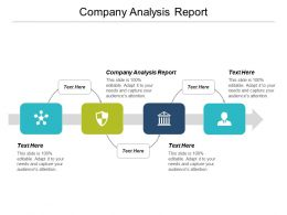 Company Analysis Report Ppt Powerpoint Presentation Summary Design Inspiration Cpb