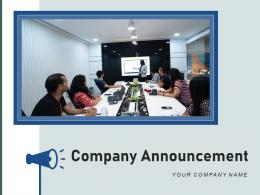 Company Announcements Marketing Promotion Transformation Executive Workplace