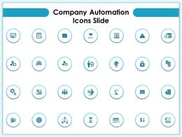 Company Automation Icons Slide Ppt Powerpoint Presentation Gallery Infographic Template
