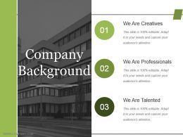 Company Background Powerpoint Images