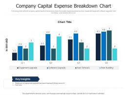 Company Capital Expense Breakdown Chart