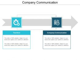 Company Communication Ppt Powerpoint Presentation File Ideas Cpb