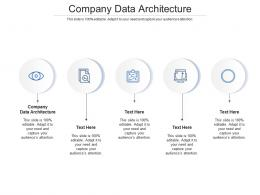 Company Data Architecture Ppt Powerpoint Presentation Gallery Graphic Images Cpb