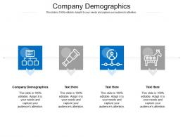Company Demographics Ppt Powerpoint Presentation Model Template Cpb