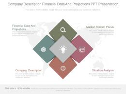 Company Description Financial Data And Projections Ppt Presentation
