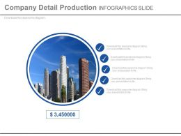 Company Detail Product Infographics Slide Powerpoint Slides