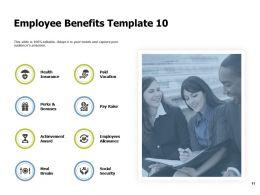 Company Employee Benefits Powerpoint Presentation Slides