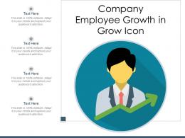 Company Employee Growth In Grow Icon