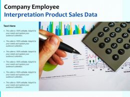Company Employee Interpretation Product Sales Data