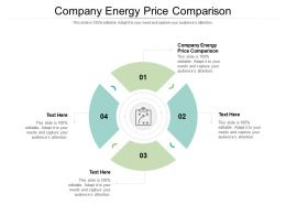 Company Energy Price Comparison Ppt Powerpoint Presentation File Mockup Cpb